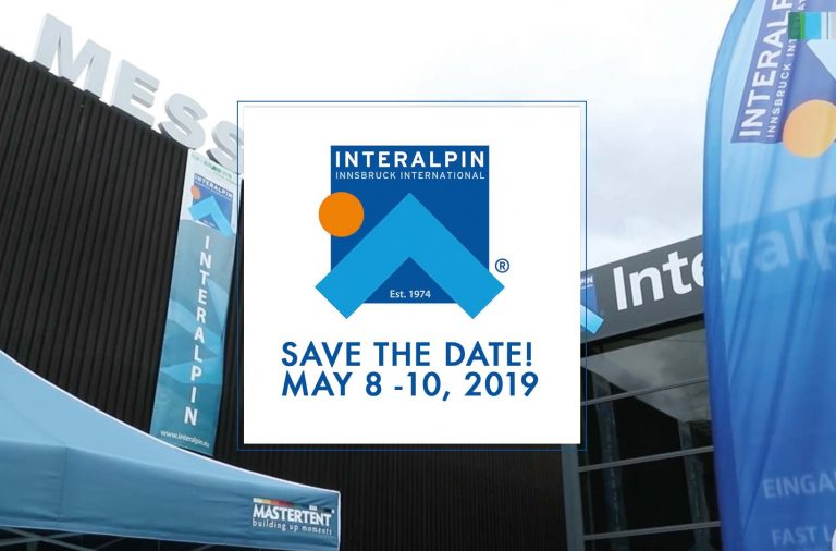 interalpin 2019: save the date