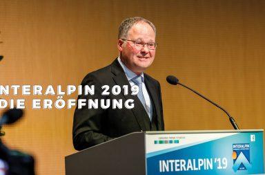 interalpin 2019, die eroeffnung